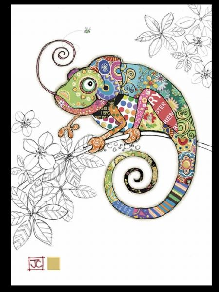 Cosmo Chameleon Card